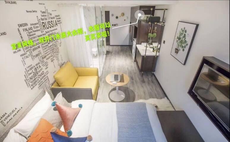 【徐汇】双地铁双电梯,可做饭,精装一居室,5500起租,随时看房