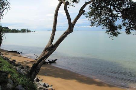 Crusoe-Luxe Beach Chalets on the Melaka Straits