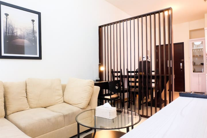 2BR Gandaria Heights Connect to Gandaria City Mall