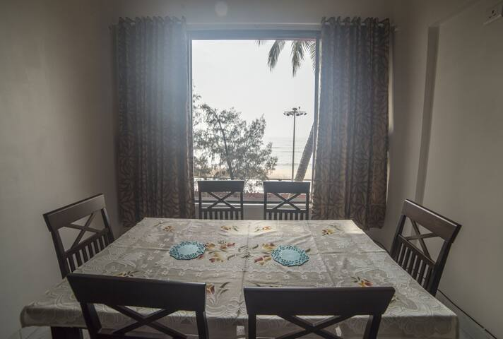 Apartment on Alibag Beach.
