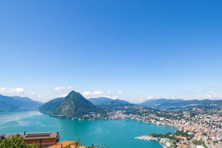 Panoramic Design Home for Lugano Luxury Experience
