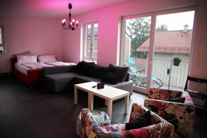 Loftwohnung mit Balkon in Bad Aibling