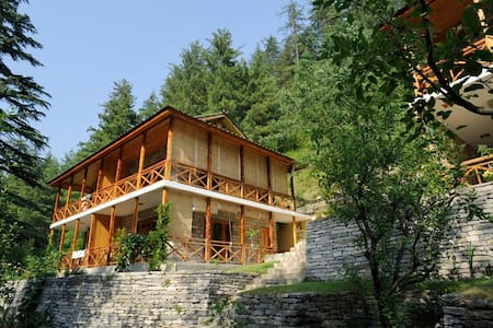 Tall Trees Resort Manali - Private Room - Manali - Boutique hotel