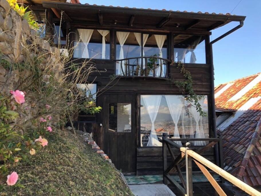 La Colina Hospedaje & Relax Apartamentos en el mirador de Cuenca