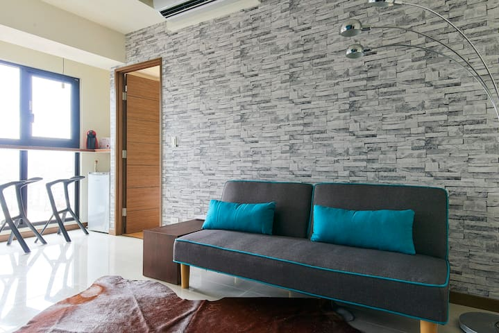 Ximen cozy home- Ximen MRT & shopping 8 mins - New Taipei City - Apartament