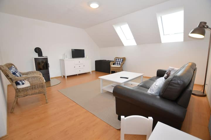 Comfortable Apartment with Balcony, Storage and Parking