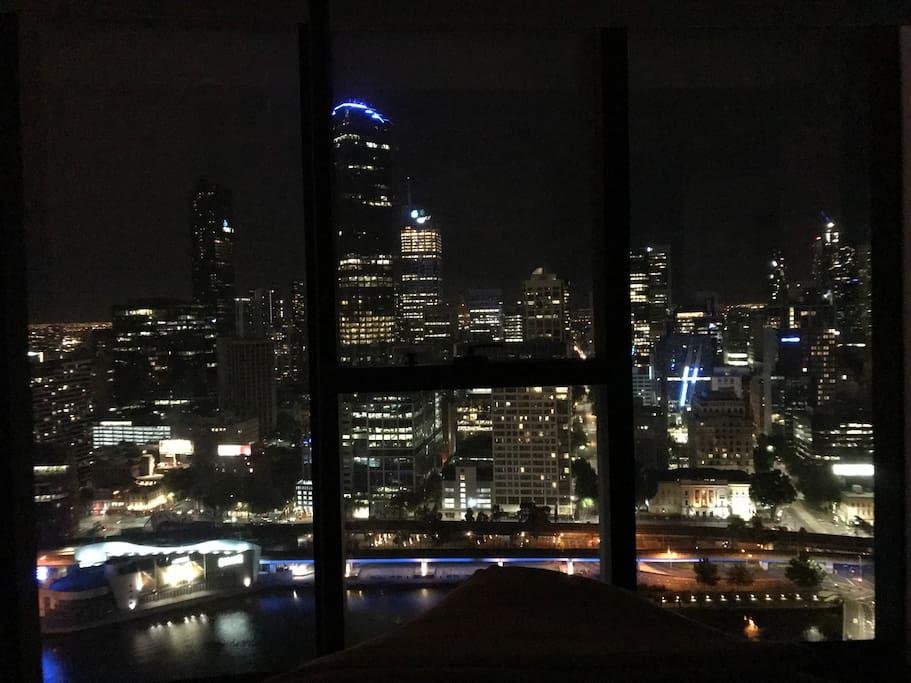 Bedroom View - Night
