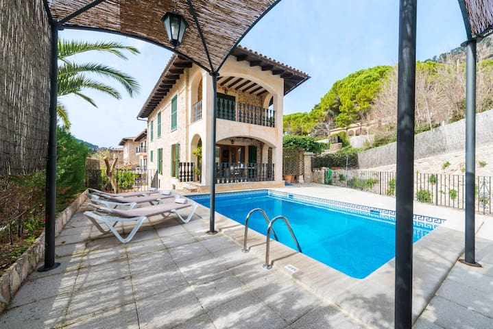 VILLA VALLDEMOSSA - Traditional house with private pool in one of the most iconic places in Majorca