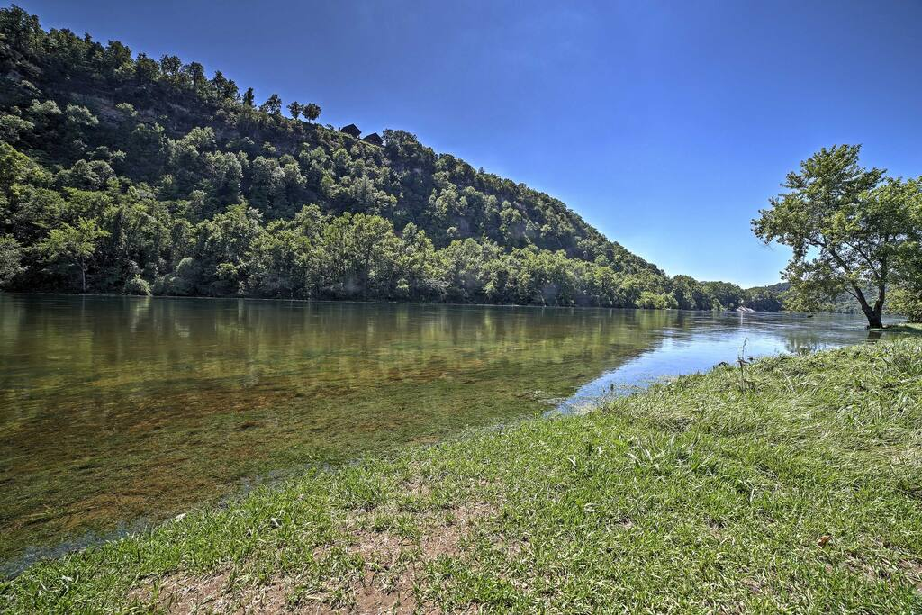 You'll have unparalleled access to fishing, boating, and swimming right from the property.