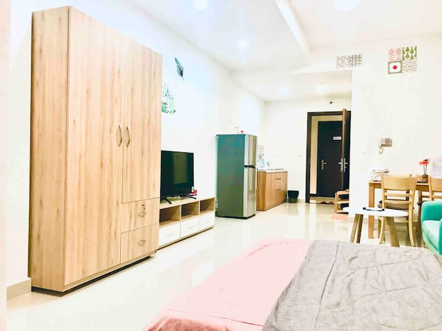 Lovely&cozy studio near Lotte mart, free GYM&POOL.