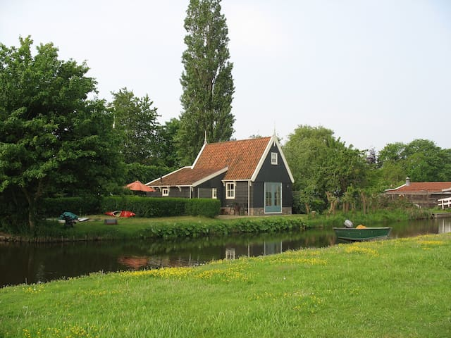 Charming cottage in the countryside near Amsterdam