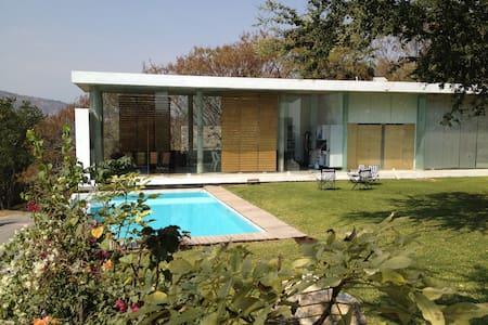 Casa minimalista en contacto con la naturaleza - Cuernavaca - Casa