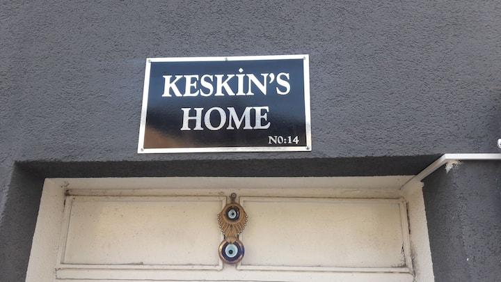 Keskin's Home'da, evinin rahatlığını yaşayacaksın.