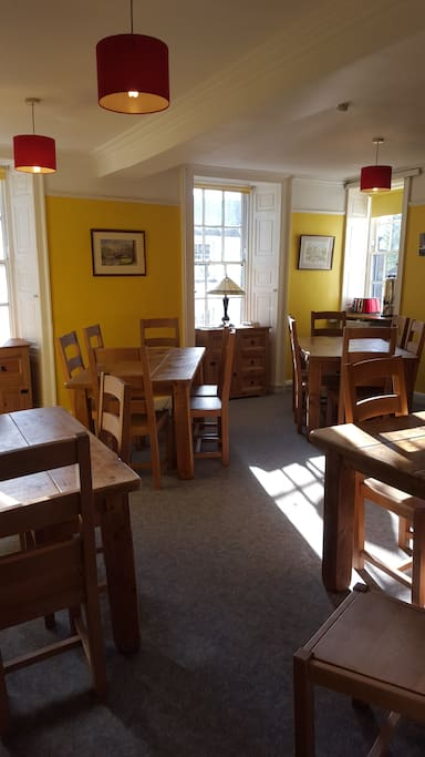 Kendal Hostel Dining Room