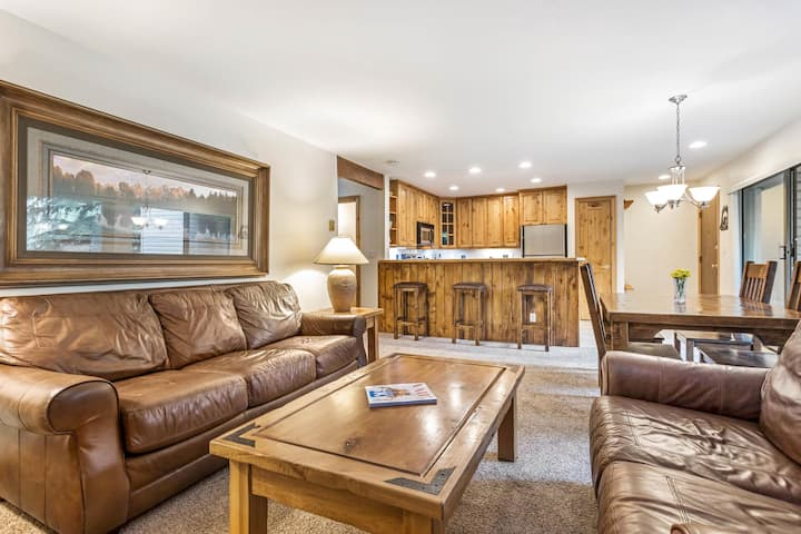 Avon condo with spectacular location and amenities