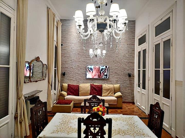 Casa estilo europeo impecable Centro de Bs As 92m2