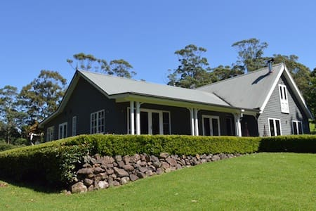 Woodlands - luxury guest house near Berry, NSW - Browns Mountain