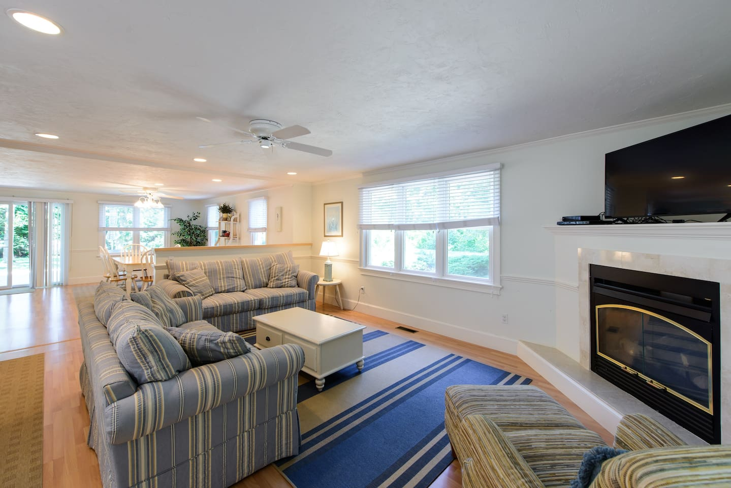 Family Room with view of eating area