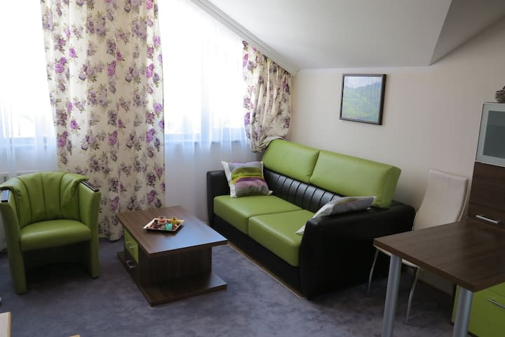 One bed Maisonette C51 Borovets Garden