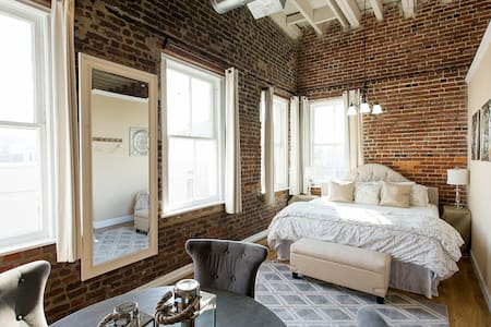 Newly Renovated Loft Cntr Downtown - Charleston