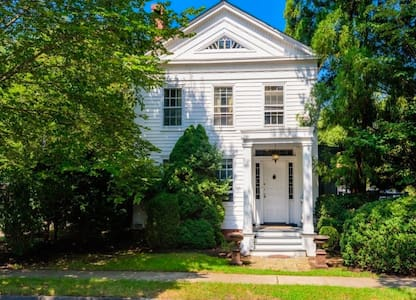 Charming Manse in Historic Sag Harbor Village - Sag Harbor