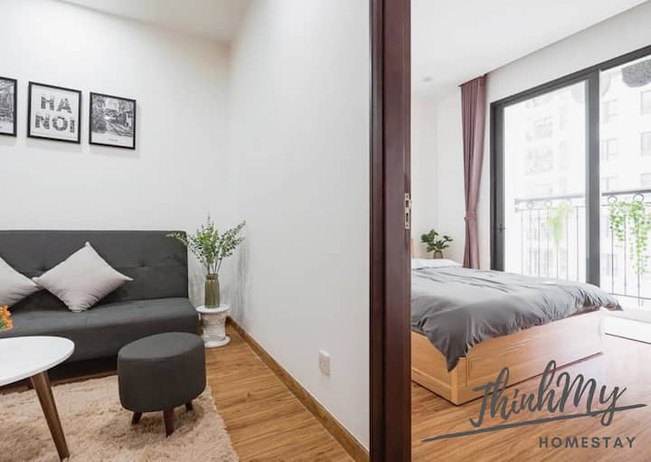 [ThinhMy home] Cozy and modern 1 br apt Times City