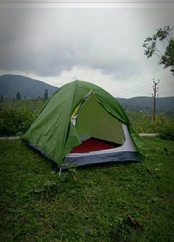 Tents Adjacent to a Tourist villa @ 1200/2