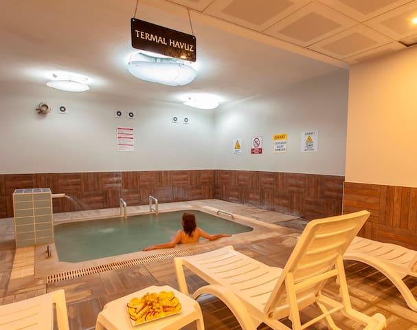 Pamukkale termal Ece Otel-executive room