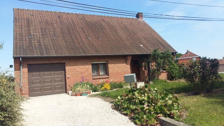 Logement calme et reposant - Ennetières-en-Weppes - Casa