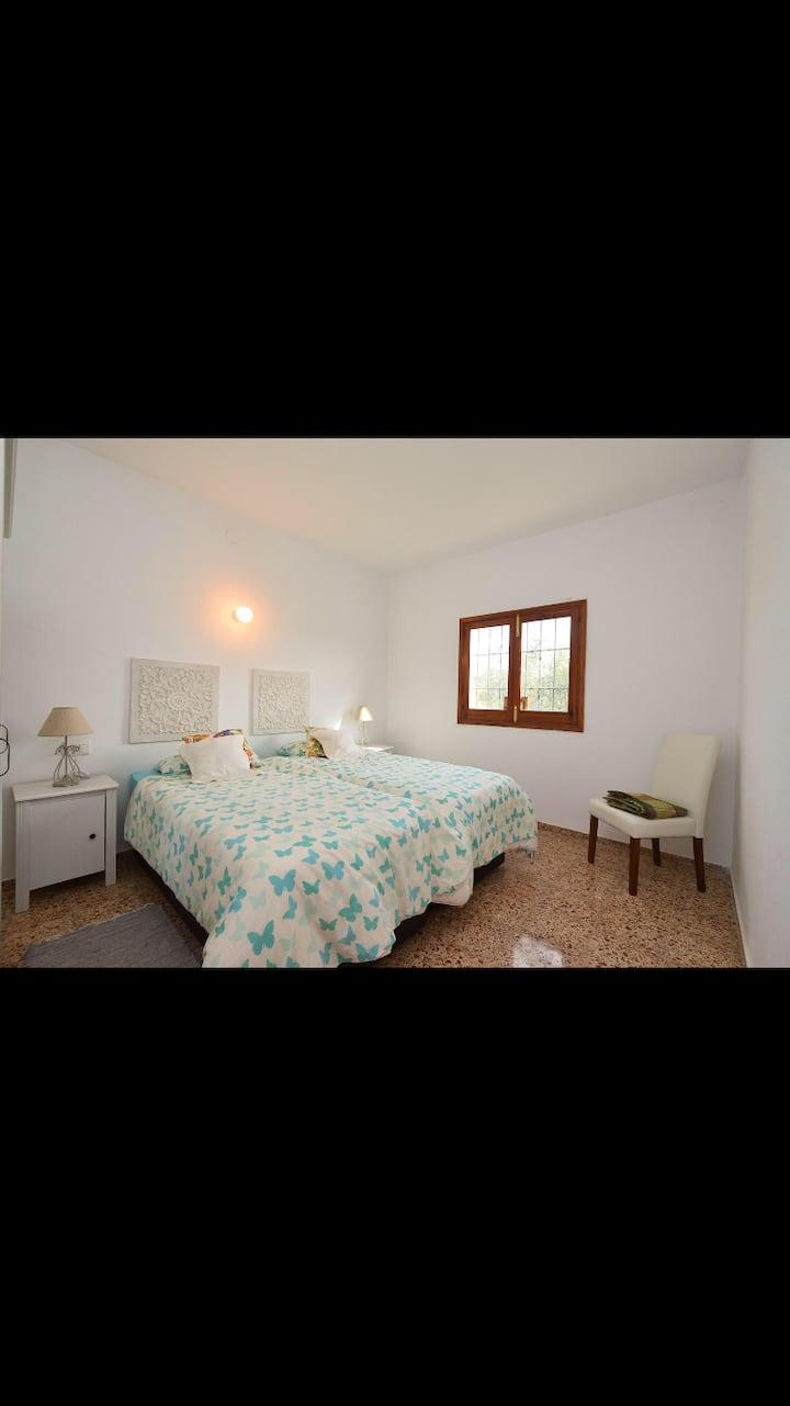 Beautiful Bedroom in Yogic Countryside House