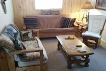 Living room  with futons