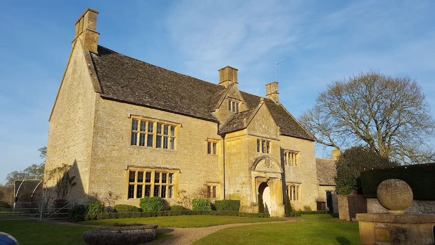 Beautiful Cotswold Manor House - Upper Swell