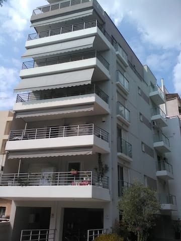 Deluxe apartment, 6th floor, 60m2, center Athens. - Kesariani - Apartamento