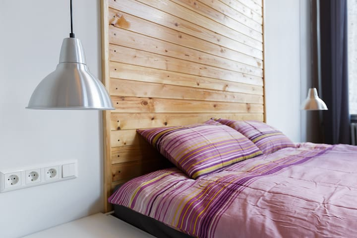 Двухместный номер с балконом и кроватью king-size