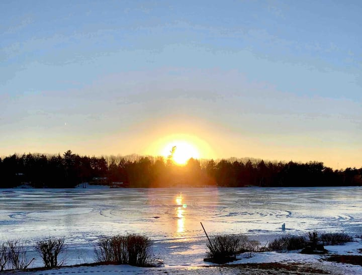 Enjoy a cozy winter wonderland escape!