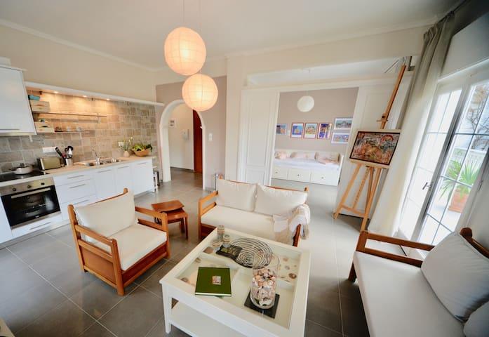 Appartement Olivanda -cozy flat-1 min to the beach