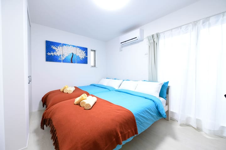 6min from NAMBA / Very CLEAN room/FREE BICYCLE