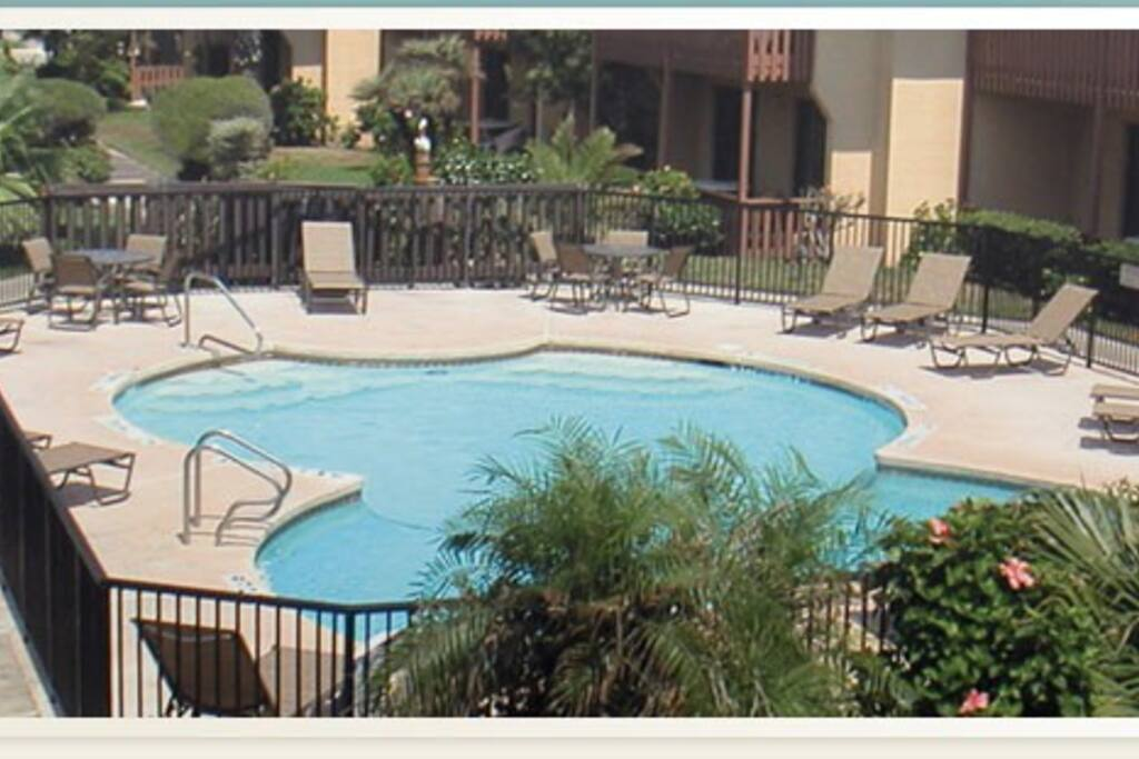 One of 2 pools on the property!