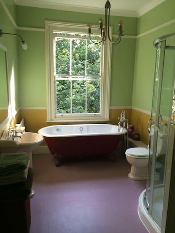 Bathroom 1: Family bathroom