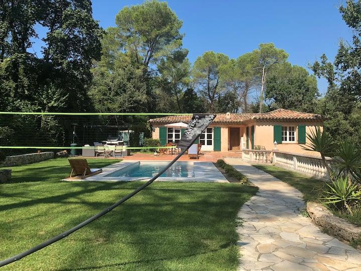 Villa Valbonne au calme