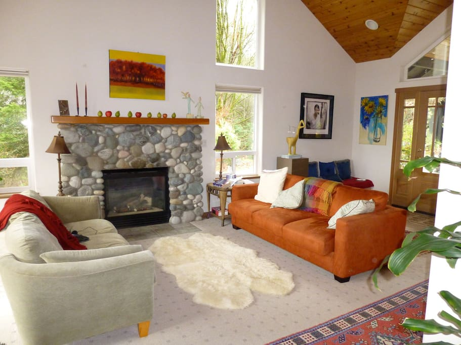 Living Room With Expansive View