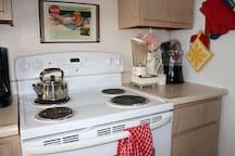 Electric Range/Stove in Kitchen