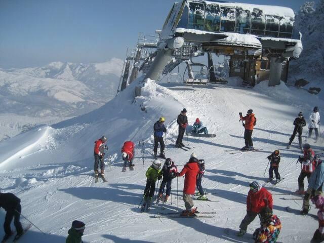 Monolocale a Cerreto Laghi  sulle piste da sci