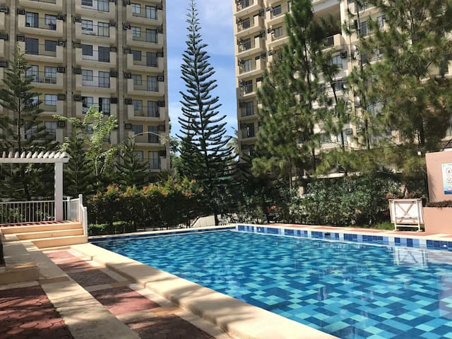 Piney Homey Place in a City- 2BR Condo, Camella NP