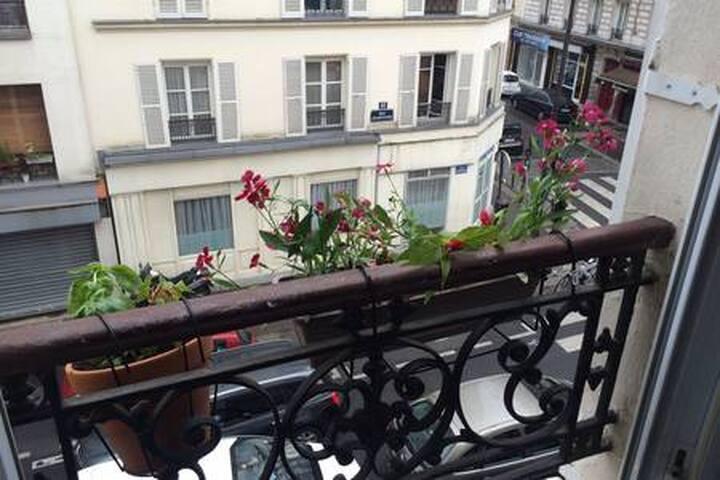 Joli 2 pièces lumineux pour visiter Paris 18ème !