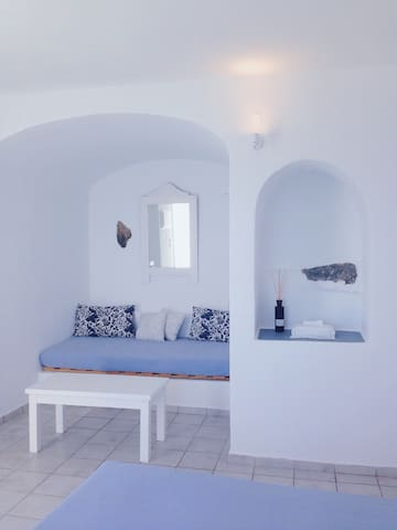 Double room with amazing caldera and sea views - Imerovigli - Appartement