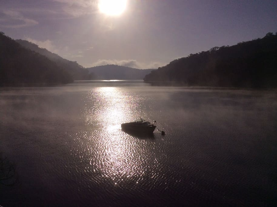 Sunrise on Berowra Waters - view from your balcony