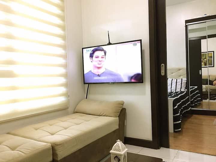 Cozy FullyFurnished 1BR Mandaluyong w/WIFI