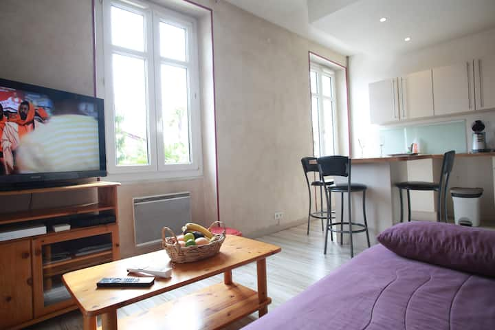 Anglet appartment in big bask house near Biarritz