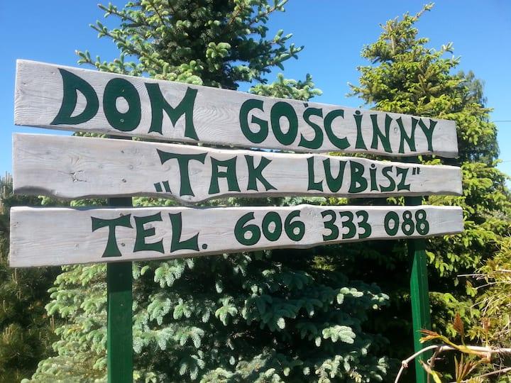 """Dom Gościnny """"Tak Lubisz""""-apartament"""